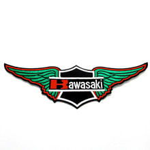 Custom High quality motorcycle clothing embroidery patch , wing embroidery design badge
