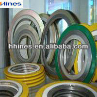 All Size Factory Price Rubber spiral wound gasket