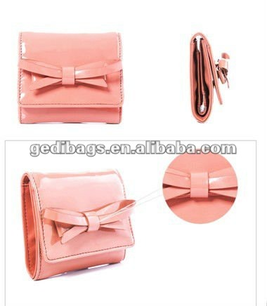 Best seller fashion female wallets in candy colors