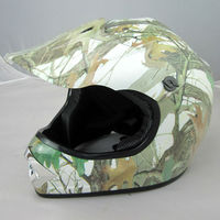 Youth off road cross ATV motorcycle helmet