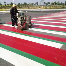 Best Price Hand-guided used self-propelled thermoplastic vibrating convex line road marking machine