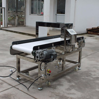 Top Quality Conveyor Belt metal detector for food industry
