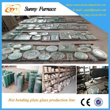 Glass plate production line for Mesh belt furnace