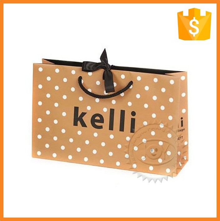 Fashion design decoration handmade cute cosmetic paper bags