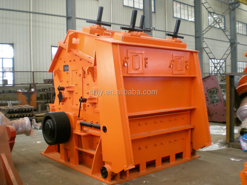 Impact crusher applications of aggregate