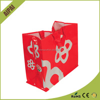 Wenzhou pictures and image printing non woven bag,New design custom metallic laminated non woven bags