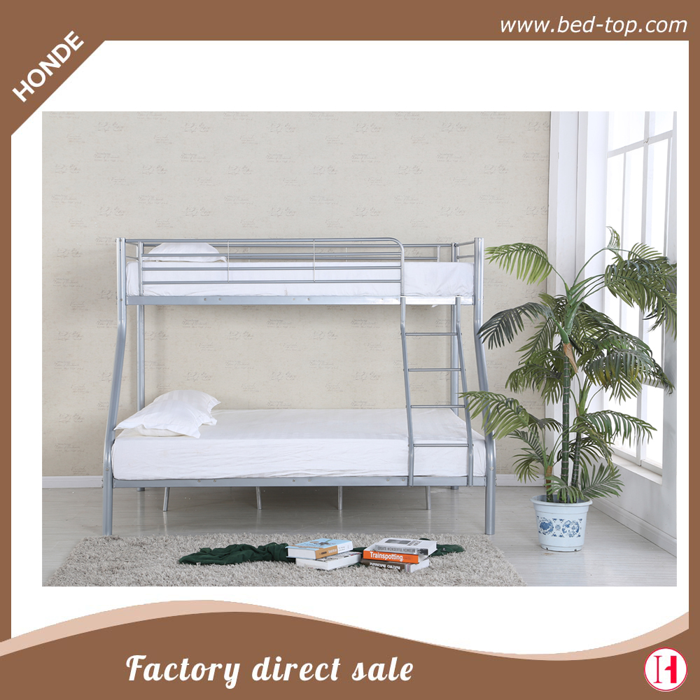 Metal furniture smart children kids used metal double bunk bed