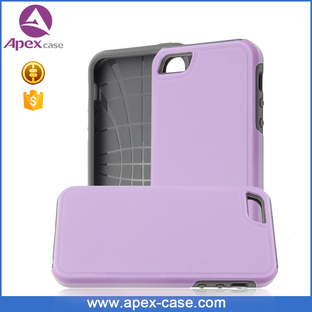 funky tpe pc combo protetctive case for iphone 5s apple phone case oem