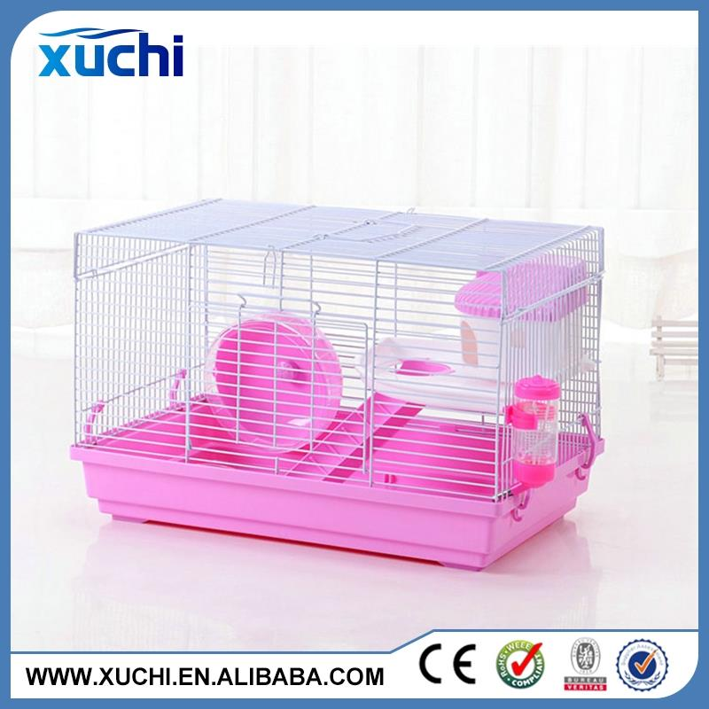 Wire hamster cages and hamster accessories made in China