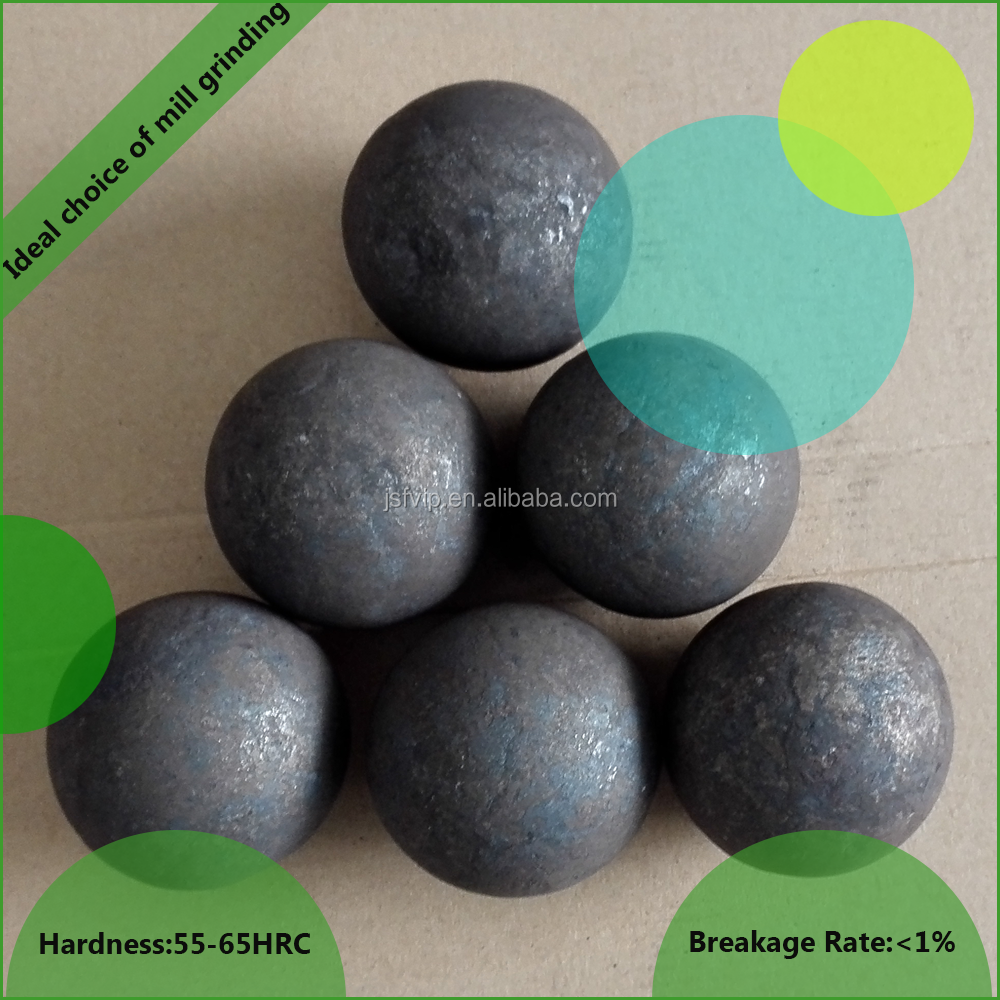 90mm grinding media rolling grinding steel balls for cement and coal mill