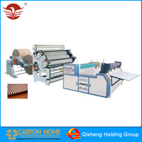 One Side Corrugated Cardboard Production Corrugated