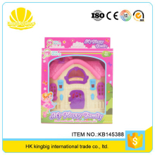 hot selling game miniature villa furniture kids house model toy with low price