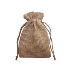 jute sack bag,burlap bag with pouch,disposable christmas tree bag