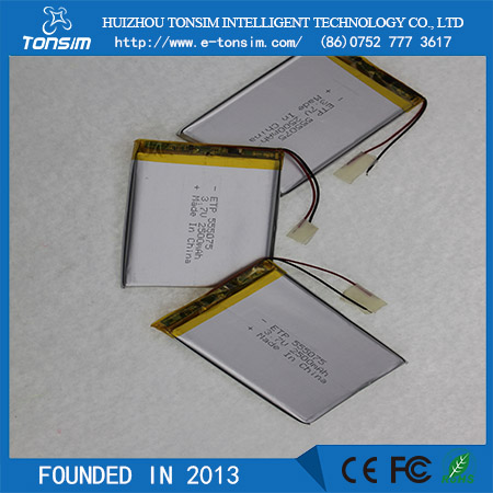 Tonsim Upower 3.7v lithium polymer Mini lipo battery pack for table PC lithium air battery