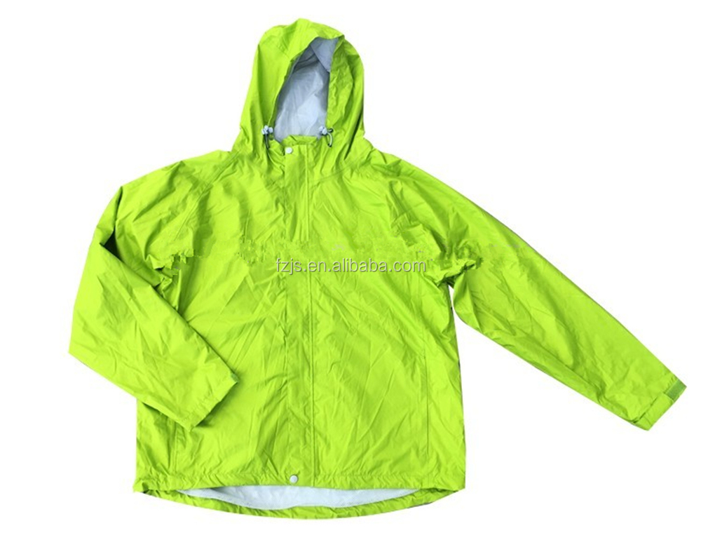 High Quality Waterproof Motorcycle Windbreaker type Rain Jacket