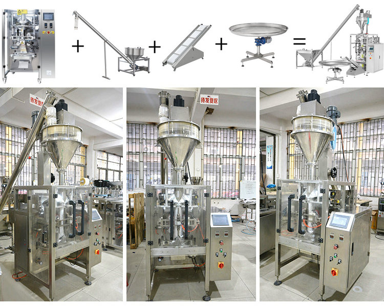factory price full stainless steel 0.5kg-1kg automatic coffee powder packing machine