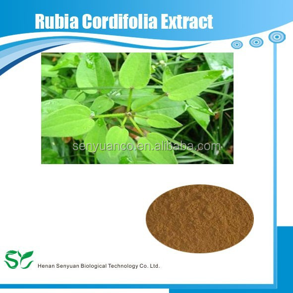 GMP quality pure natural Rubia Cordifolia Extract