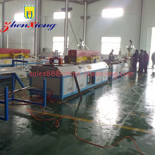 WPC profile extrusion production line/pvc door and window profile machine