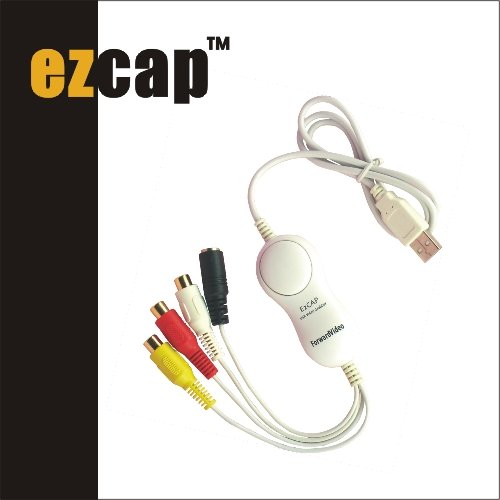 ezcap128G USB video capture for MAC,USB video grabber for MAC OS with snap shot,USB Movie & Music Grabber
