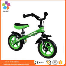2017 new model hot selling kids balance bicycle/V brake no pedal children balance bike/safe fashion baby balance bike
