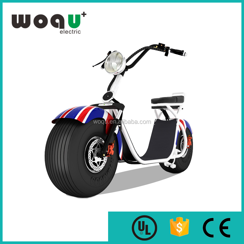 seev citycoco electric motorized bikes front and rear suspension woqu bike