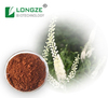 Certified Standard Herbal Extract Black Cohosh Extract Powder with Antibacteria Triterpene Glycosides 2.5%,5%,8%