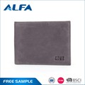 Alfa Best Selling Products Bifold Custom Made Designer Man Genuine Leather Money Bag