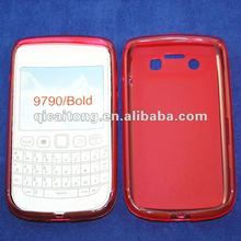 cellphone tpu puding case for blackberry 9790/bold