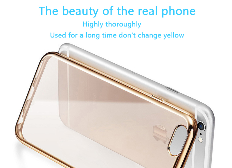 New product transparent soft material case for mobile phone