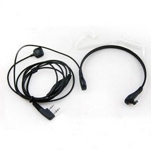 wired neckband high noise-cancelling throat mic headset for walkie talkie