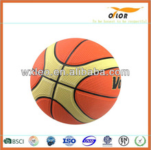 size 7 children playing promotional basketball game
