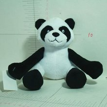 small stuffed panda,fluffy panda,pet toys