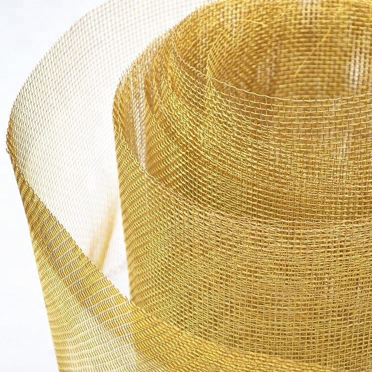 In stock H65 80 brass wire mesh for seawater filter