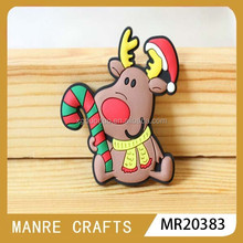 Christmas fridge magnet / soft PVC fridge magnet