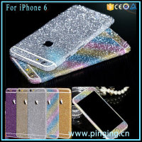 Online Whoesale Full Body Sticker For iPhone 6 6Plus Glitter Sticker
