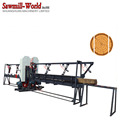 Electric Twin Vertical Band Saw Log Double Cutting Band Sawmill