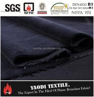 Trevira Fire Retardant Velvet fabric for stage curtain