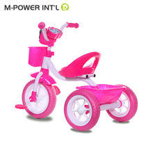 High quality beautiful baby tricycle with odometer / custom tricycles for kids