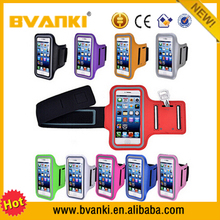 Waterproof Belt Sport Armband For Samsung For iPhone Gym Mobile Phone Arm Holder Belt Brush Leather Case