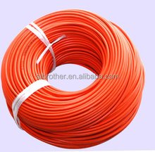 Silicone rubber insulation flexible heat resistant lead wire