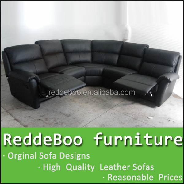 small lazy boy leather recliner sectional sofa