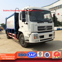 4x2 waste compactor trucks, 10 ton compressional waste truck