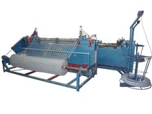JINLU PLC control PVC coated Chain link wire mesh fence making machine