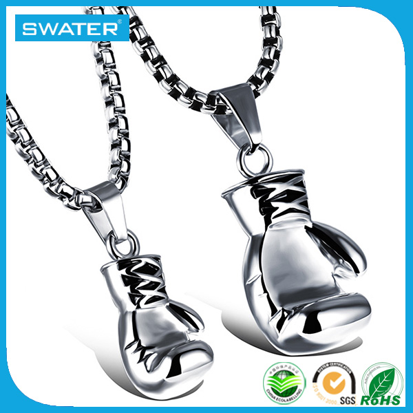 Alibaba Wholesale New Design Boxing Glove Custom 925 Necklace