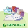 Hot Selling photo paper In-mold Label Name card Synthetic paper