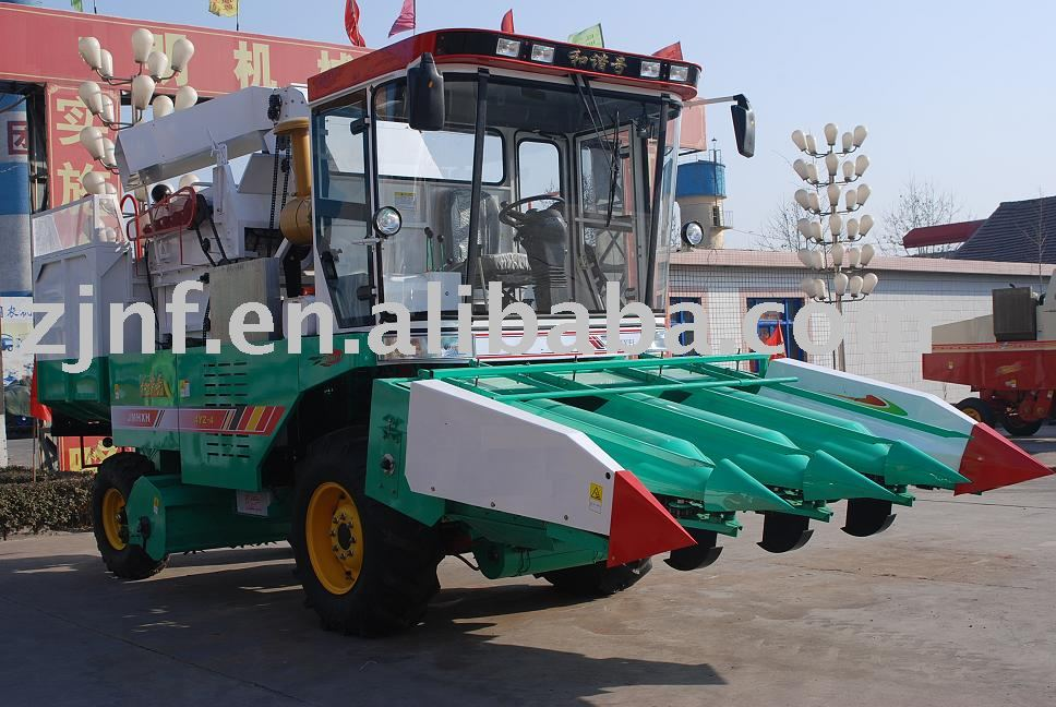 BILANG Self-propelled Corn rice and wheat Combine harvester
