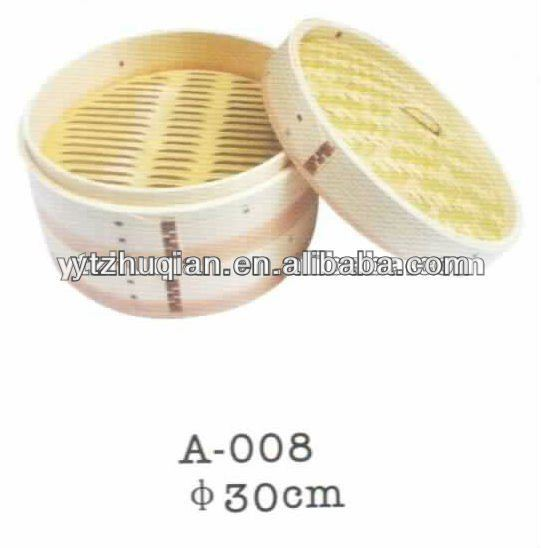 Cheap High Quality Bamboo Bread Steamer Bamboo Steamer Low Price with High Quality