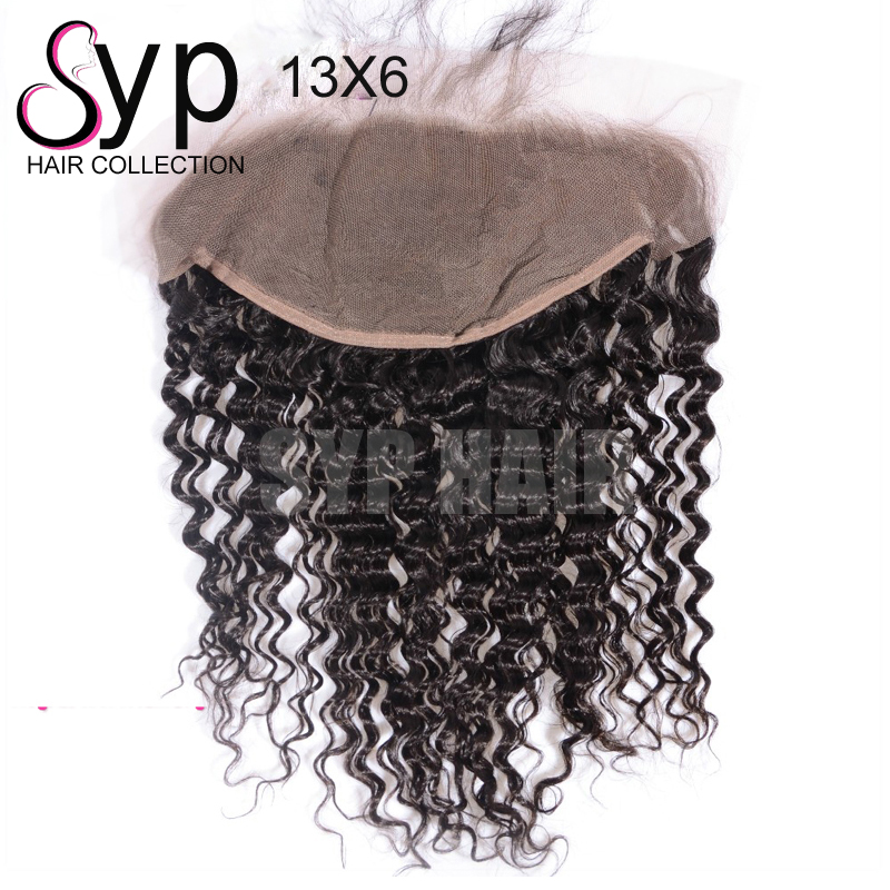Virgin Italian Wave Hair Weaving Frontal 13*6 Extensions Mega Hair