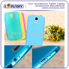 Soft TPU phone case with Dust Plug for Samsung Galaxy S4 i9500 Paypal Acceptable