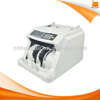 USD/Rupee/Euro/Shilling Money Counter Machine with UV MG Detection